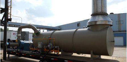 Thermal Oxidizer for Tank Degassing