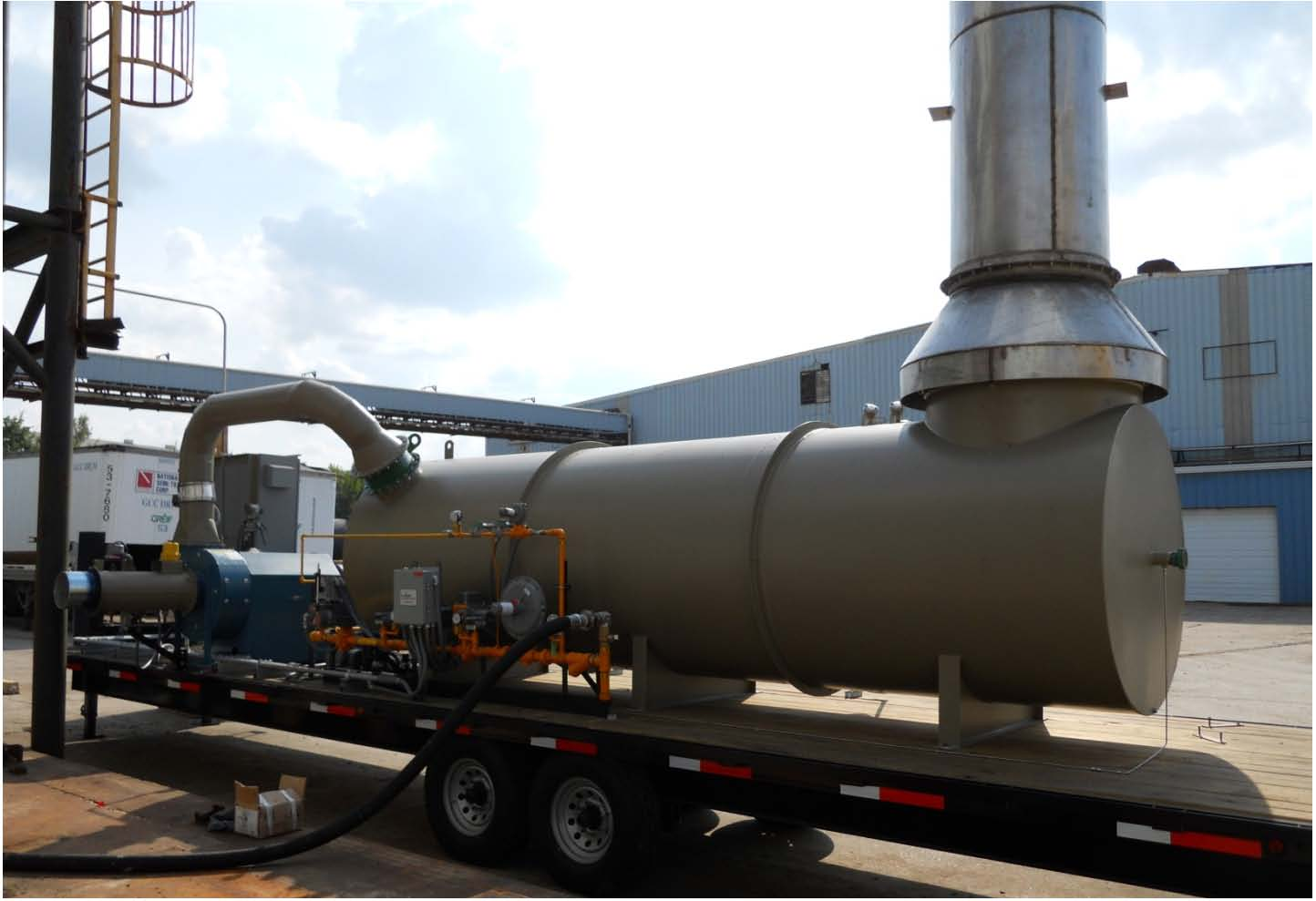 Rental Thermal Oxidizer